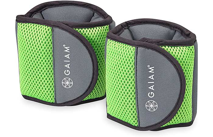Best For Walking Gaiam Fitness Ankle Weights