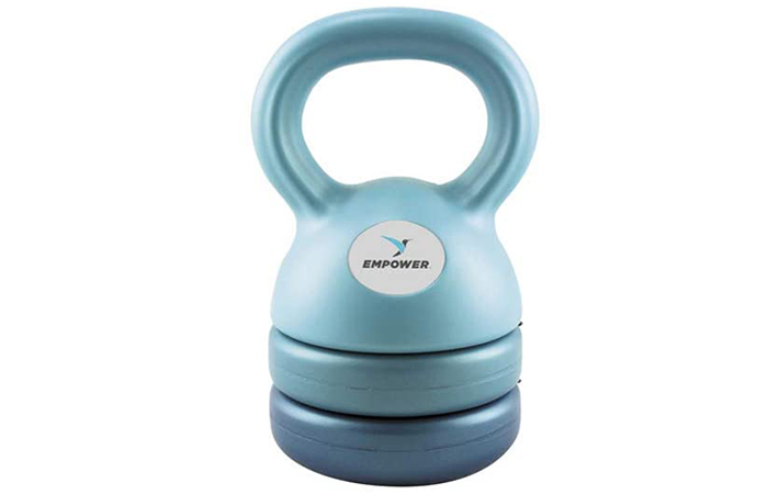 Best For Women: Empower Adjustable Kettlebells