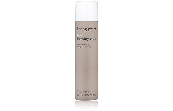 Best Heat Protectant Hairspray Living Proof No Frizz Humidity Shield Finishing Hairspray