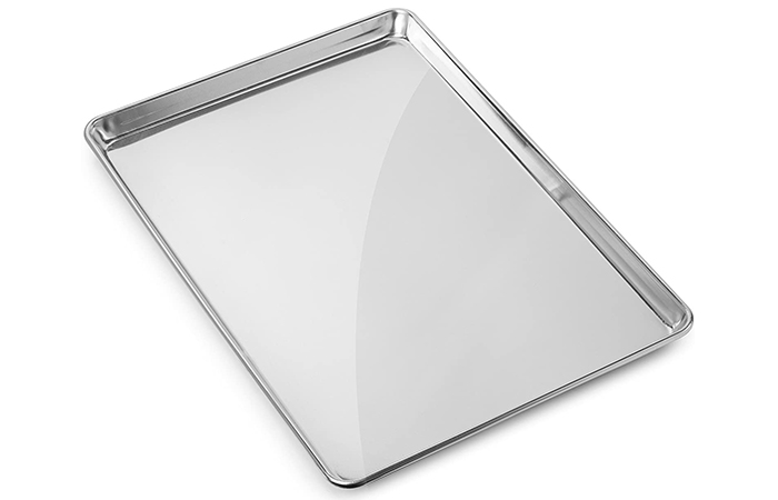 Best Lightweight Baking Tray: Gridmann Aluminum Baking Tray