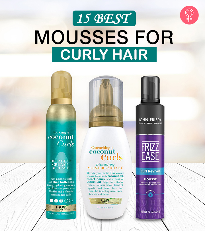 15 Best Mousses For Curly Hair To Buy Online In 2020