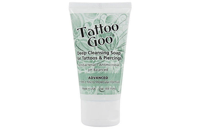 Best OTC Antimicrobial Soap: Tattoo Goo Deep Cleansing Soap