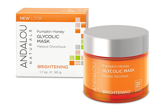 Best Overall Andalou Naturals Pumpkin Honey Glycolic Mask