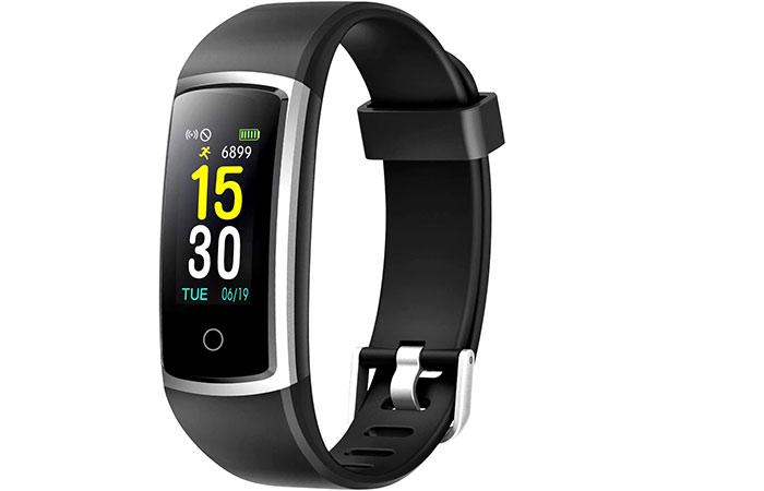 Best Overall Pedometer FITFORT Fitness Tracker