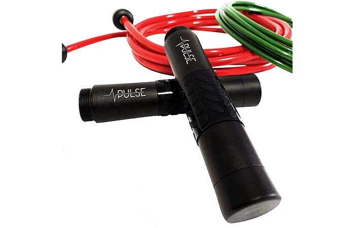 Best Overall Pulse Weighted Jump Rope Set