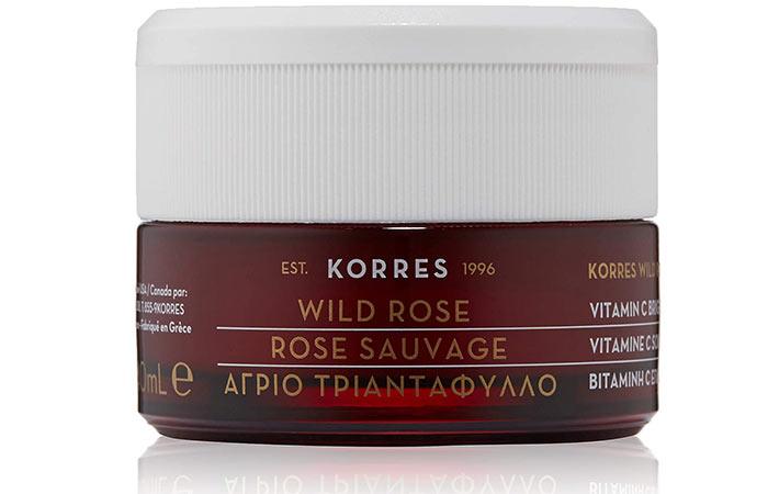 Best Overnight Face Mask KORRES Wild Rose Vitamin C Brightening Sleeping Facial