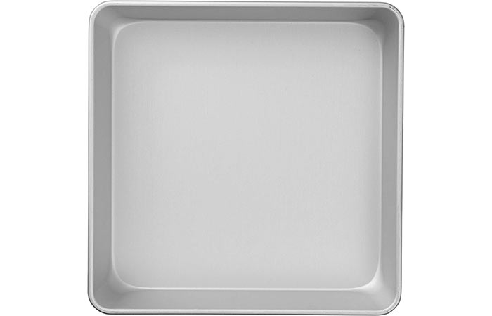Best Square Baking Pan Wilton Performance Aluminum Square Cake And Brownie Pan