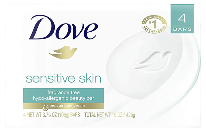 Best Tattoo Aftercare Soap: Dove Beauty Bar