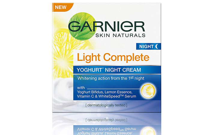 Garnier Skin Naturals Light Complete Night Cream