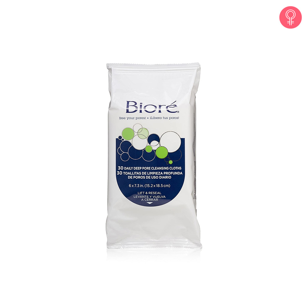 Biore Daily Deep Pore Cleansing Cloths