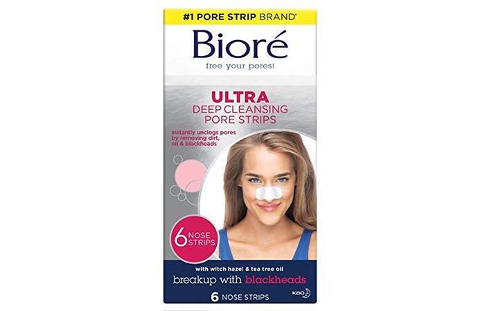Biore Ultra Deep Cleansing Pore Strips