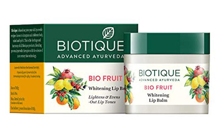 Biotic Bio Fruit Whitening Lip Balm