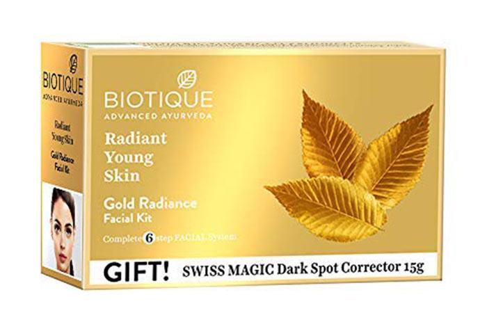 Biotic Bio Gold Radiation Facial Kit