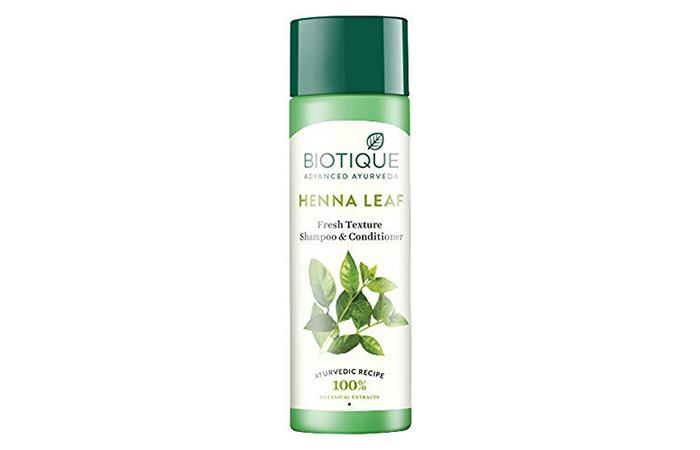 Biotic Henna Leaf Fresh Texture Shampoo