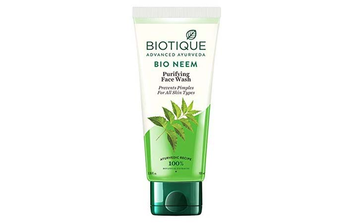 Biotique Advanced Ayurveda Bio Neem Purifying Face Wash