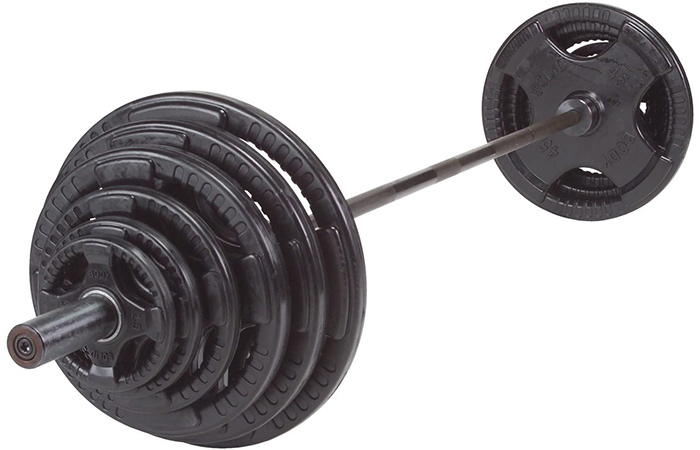 Body-Solid Rubber Grip Olympic Sets