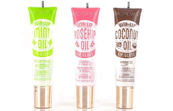 Broadway Vita-Lip Clear Lip Gloss Set