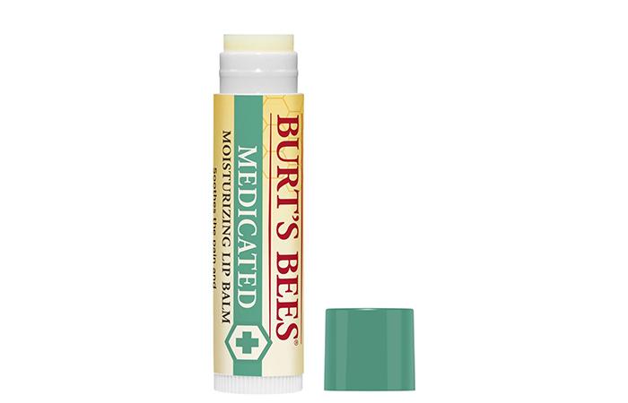 Burt Bees Medicated Moisturizing Lip Balm