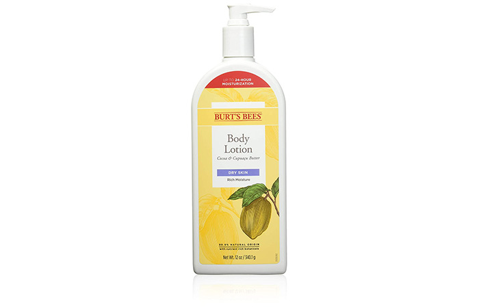 Burt's Bees Cocoa & Cupuaçu Butter Body Lotion
