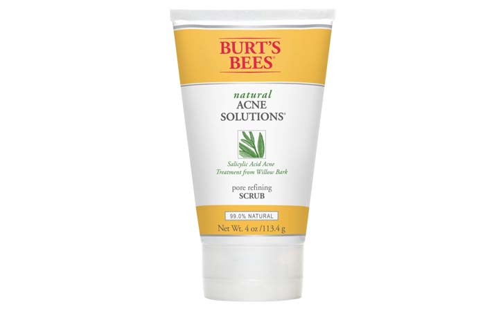 Burts Bees Natural Acne Solutions Pore Refining Scrub
