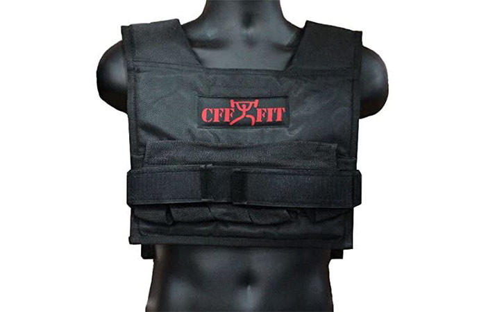 CFF-FIT Adjustable Weighted Short Vest