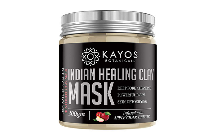 Cayce Indian Healing Clay Mask
