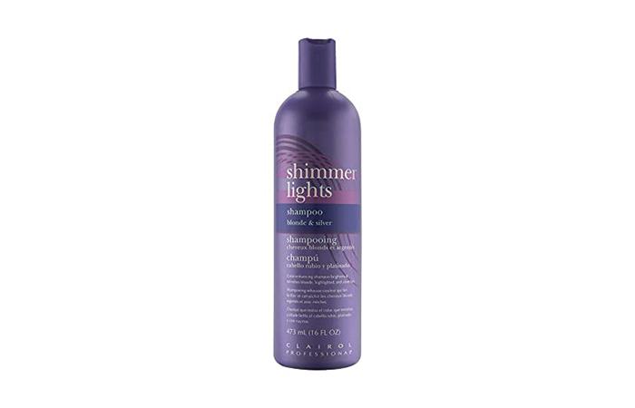 Clarol Shimmer Lights Blonde & Silver Shampoo