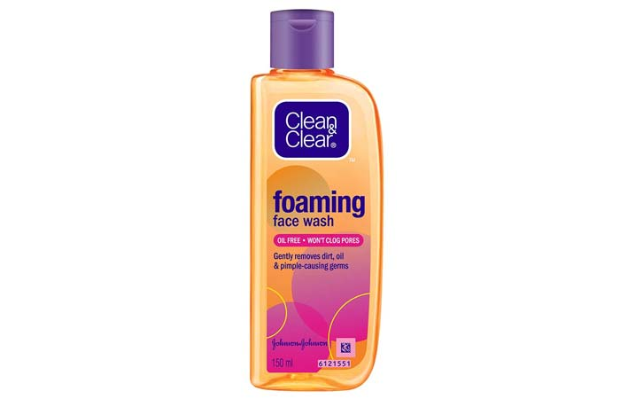 Clean Clear Foaming Face Wash