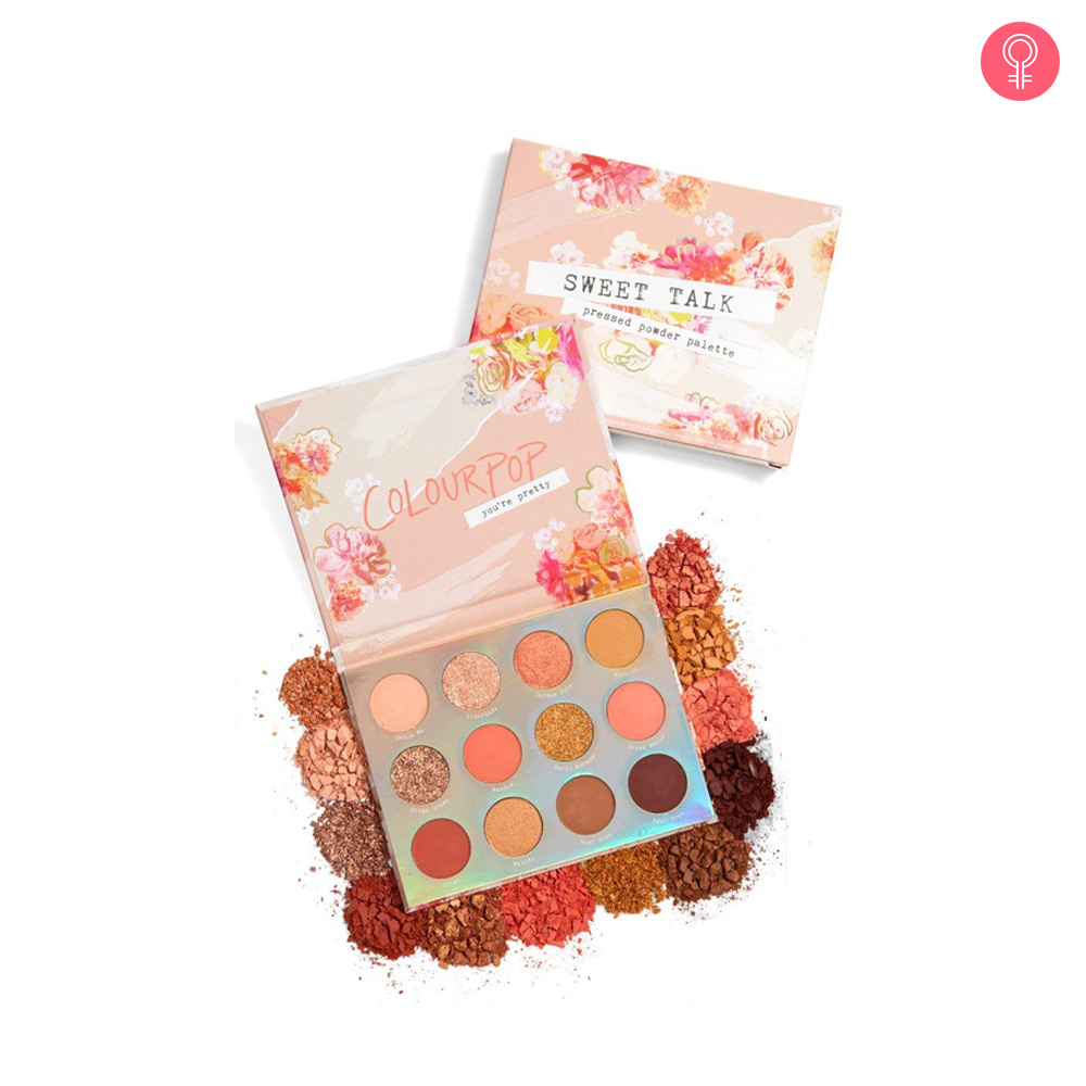Colourpop Sweet Talk Pressed Powder Eyeshadow Palette