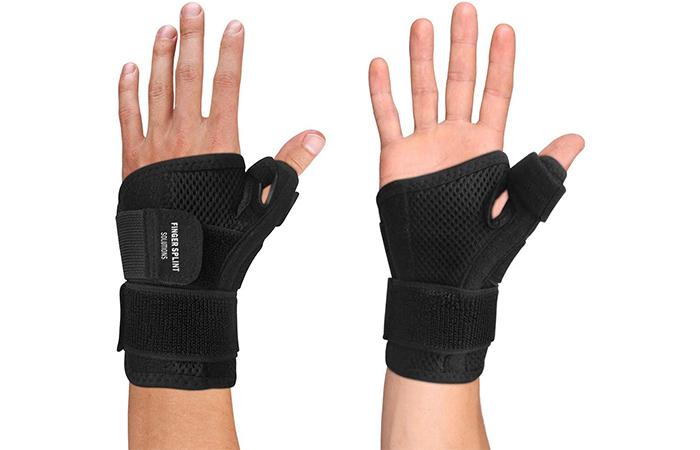 Copper Compression Gear Thumb Brace