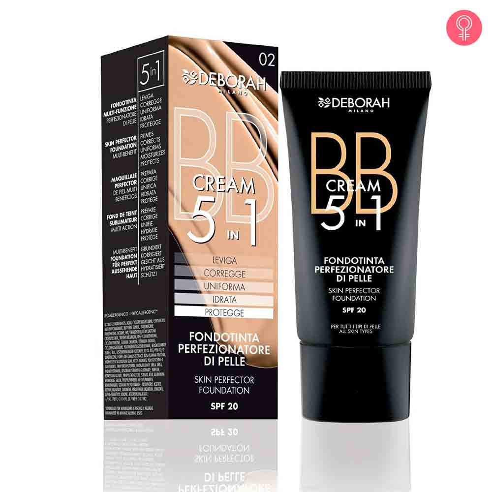 Deborah Milano BB Cream 5 in 1 Foundation