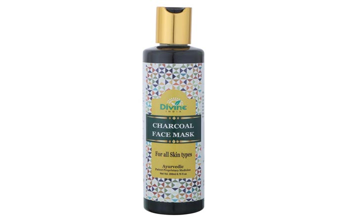 Divine India Charcoal Face Mask
