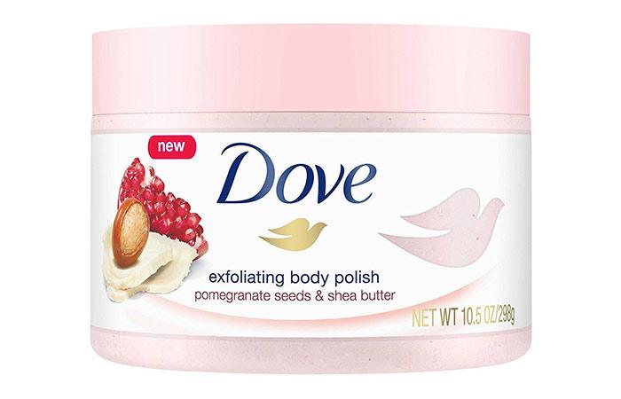 Dove Exfoliating Pomegranate & Shia Polished Body Scrub