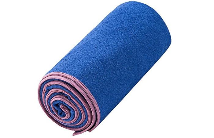 DubeeBaby Non-Slip Absorbent Microfiber Hot Yoga Towel
