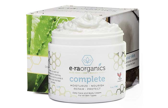 E.ra Organics Daily Face And Body Cream