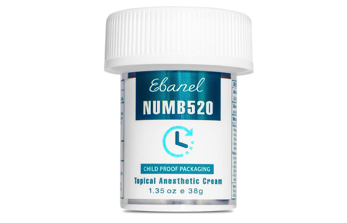 Ebanel Numb520 Topical Anesthetic Cream