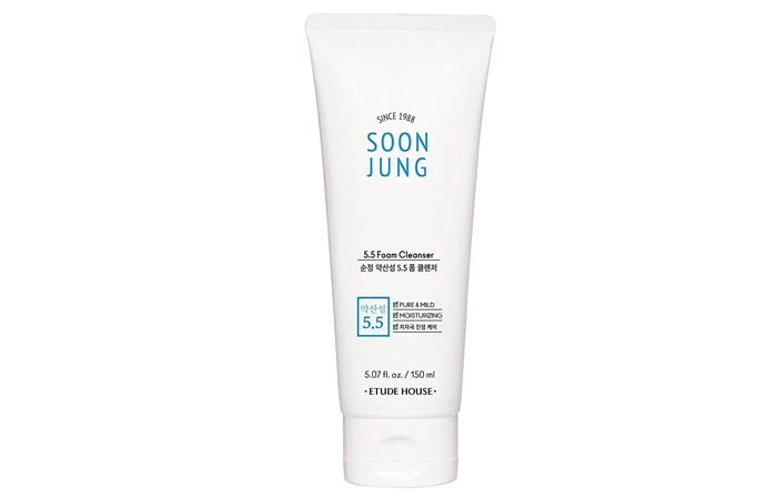 Etude House Soon Jung 5.5 Foam Cleanser