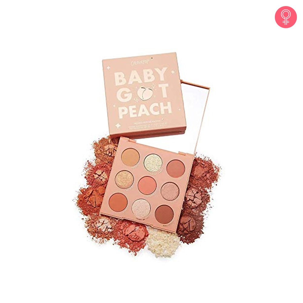 ColourPop Baby Got Peach Eyeshadow Palette