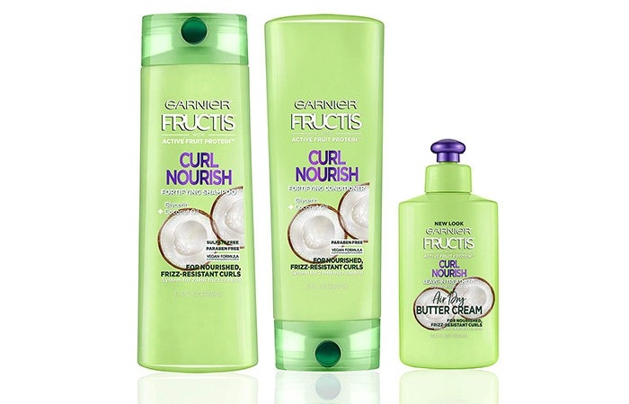 Garnier Fructis Curl Nourish Shampoo And Conditioner