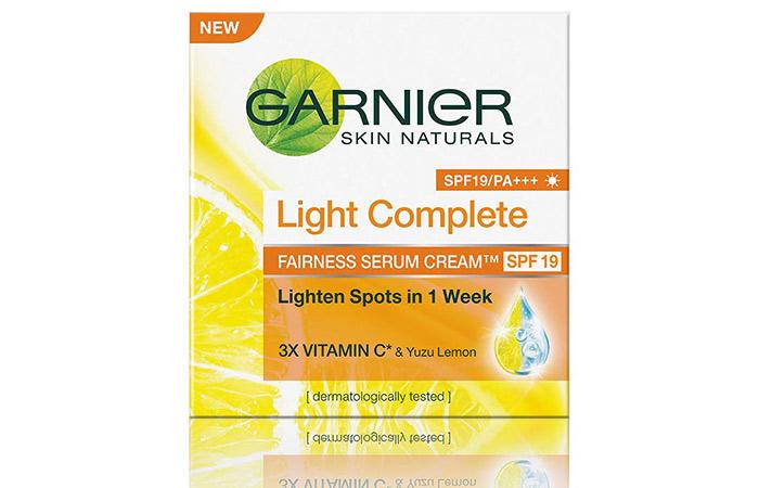 Garnier Skin Naturals Light Complete Serum Cream