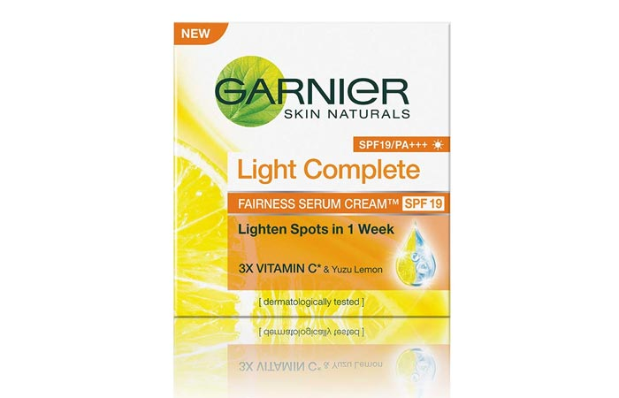 Garnier Skin Naturals Light Complete Serum Cream