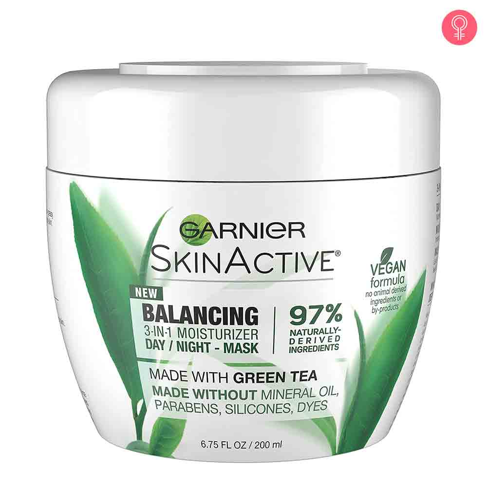 Garnier SkinActive Balancing 3-in-1 Face Moisturizer with Green Tea
