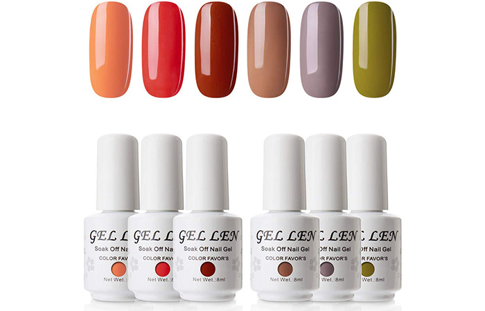Gellen Soak Off Nail Gel
