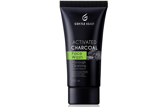 Gentle Beast Premium Activated Charcoal Facewash