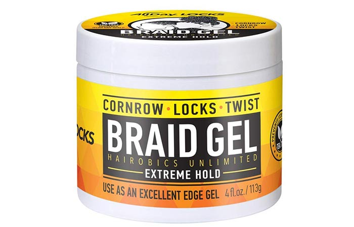 Hairobics Unlimited All Day Locks Braid Gel
