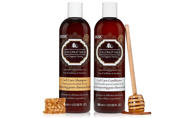 Hask Coconut Milk And Organic Honey Shampoo and Conditioner