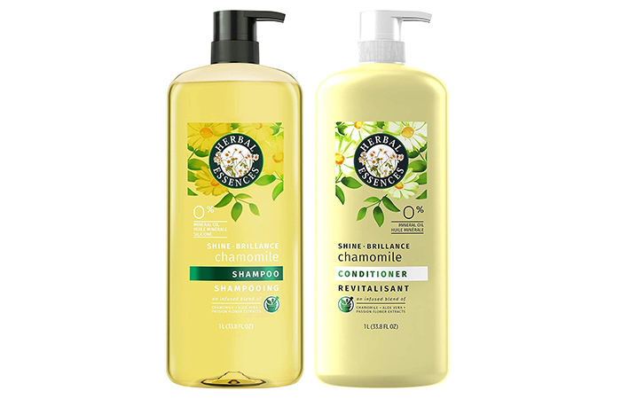 Herbal Essences Chamomile Shampoo and Conditioner