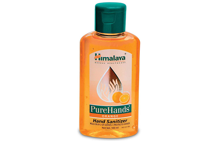 Himalaya Herbals Pure Hands Hand Sanitizer (Orange)