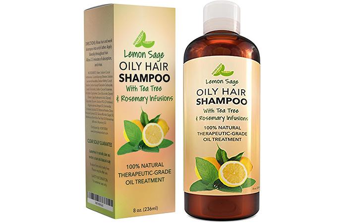Honeydew Lemon Sage Oily Hair Shampoo