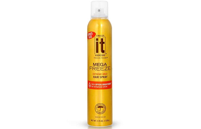 IT Haircare Mega Freeze Extreme Hold Hair Spray